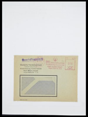Postzegelverzameling 33821 DDR dienst.
