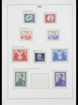 Postzegelverzameling 33824 DDR 1949-1990.