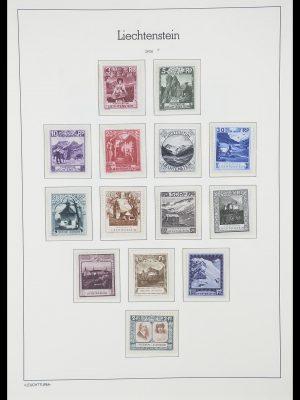 Postzegelverzameling 33825 Liechtenstein 1912-1997.
