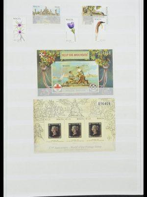 Postzegelverzameling 33827 Malta 1964-2015.