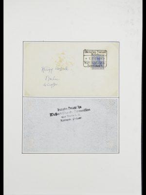 Postzegelverzameling 33770 Duitsland brieven 1933-1949.