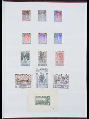 Postzegelverzameling 33816 Luxemburg 1852-1938.