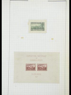 Postzegelverzameling 33817 Luxemburg 1852-2019.