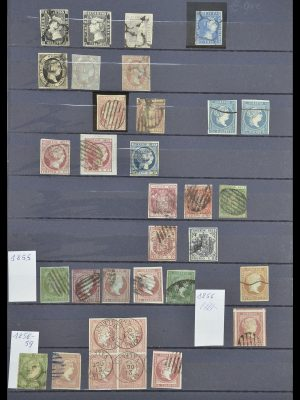Postzegelverzameling 33846 Spanje 1850-2010.