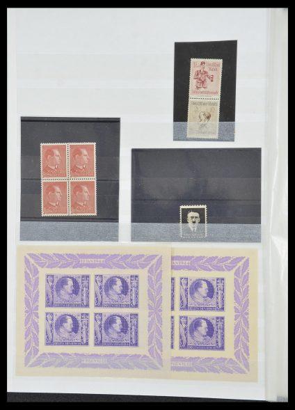 Postzegelverzameling 33850 Duitse bezettingen 2e wereldoorlog 1939-1945.