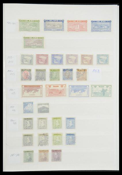 Postzegelverzameling 33854 IJsland 1876-2005.