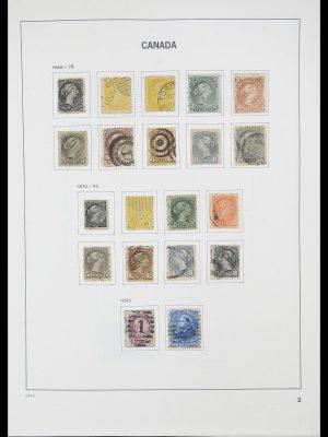 Postzegelverzameling 33866 Canada 1859-1974.