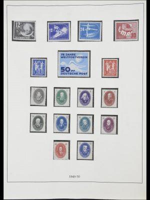 Postzegelverzameling 33868 DDR 1949-1977.