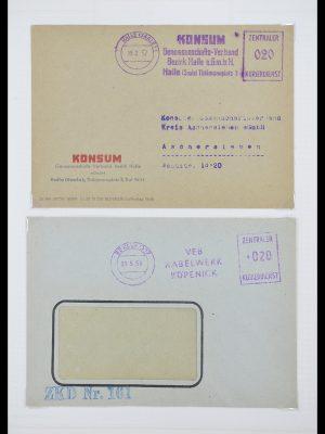 Postzegelverzameling 33883 DDR dienstbrieven 1956-1986.