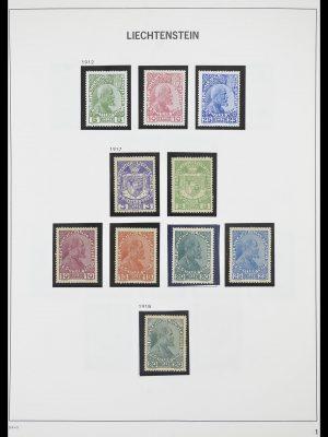 Postzegelverzameling 33890 Liechtenstein 1912-1986.