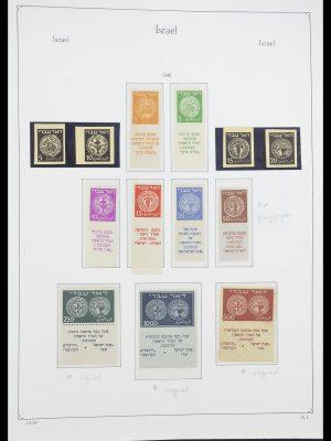 Postzegelverzameling 33895 Israël 1948-1986.