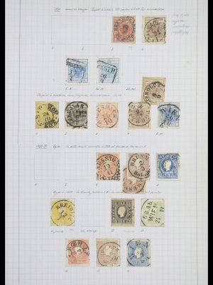 Postzegelverzameling 33901 Oostenrijk en gebieden 1850-1965.