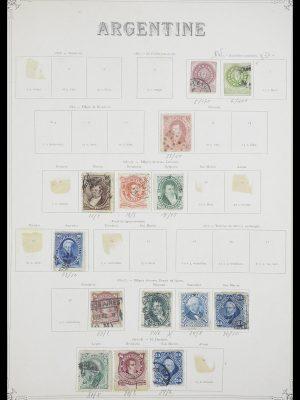 Postzegelverzameling 33903 Latijns Amerika 1853-1920.