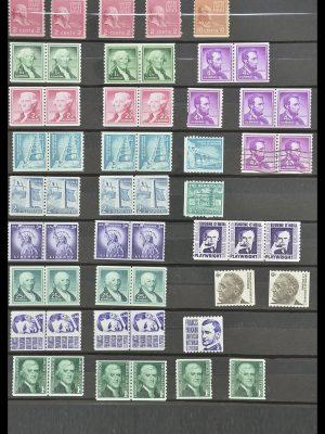 Postzegelverzameling 33904 USA 1938-1998.
