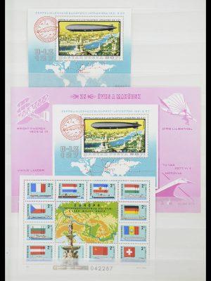 Postzegelverzameling 33909 Hongarije blokken 1977-2010.