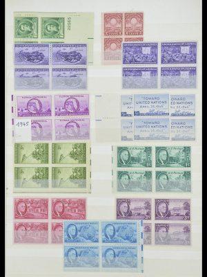 Postzegelverzameling 33933 USA postfris 1945-1996.