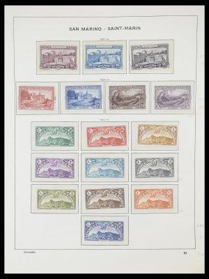 Postzegelverzameling 33937 San Marino 1877-1983.