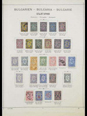 Postzegelverzameling 33947 Bulgarije 1879-1955.