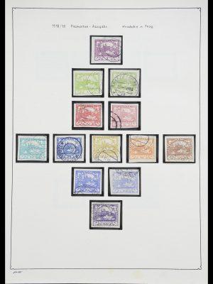 Foto van Postzegelverzameling 33952 Tsjechoslowakije 1918-1956.