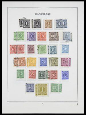 Postzegelverzameling 33954 Bundespost en Berlijn 1945-1972.