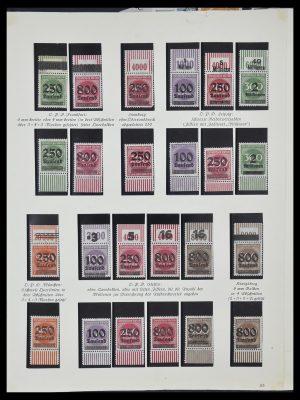 Postzegelverzameling 33957 Duitse Rijk infla 1923.