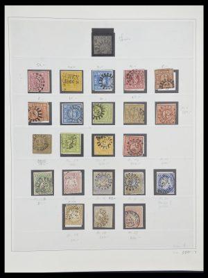 Postzegelverzameling 33958 Beieren 1849-1920.
