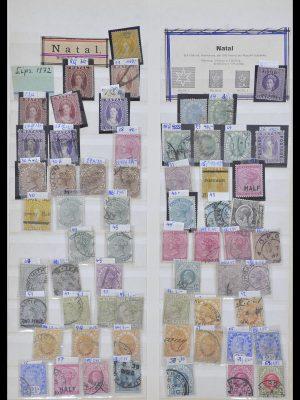 Postzegelverzameling 33959 Natal 1859-1908.