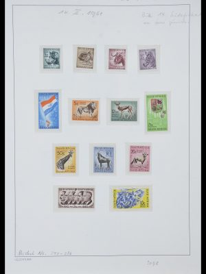 Postzegelverzameling 33962 Zuid Afrika 1961-1969.