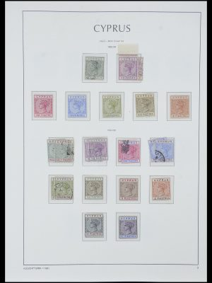 Postzegelverzameling 33967 Cyprus 1880-2004.