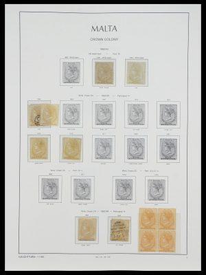 Postzegelverzameling 33968 Malta 1861-2001.