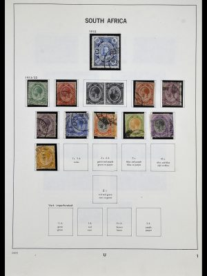 Postzegelverzameling 33969 Zuid Afrika 1910-1997.