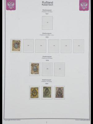 Postzegelverzameling 33974 Rusland 1858-1998.