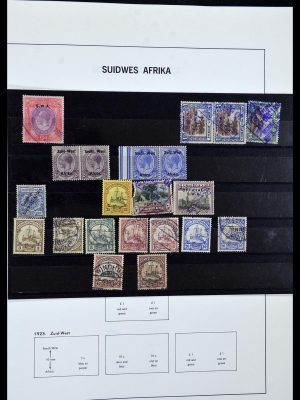 Postzegelverzameling 33979 Zuid West Afrika - Namibië 1923-1996.