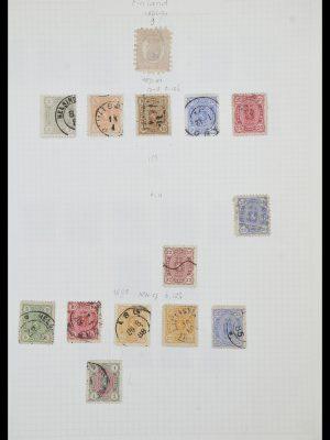 Postzegelverzameling 33980 Finland en Baltische Staten 1866-1990.