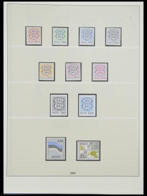 Postzegelverzameling 33983 Baltische Staten 1990-2012.