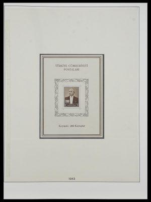 Postzegelverzameling 33984 Turkije 1938-1990.