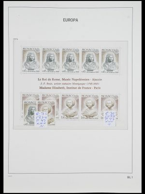 Postzegelverzameling 33985 Europa CEPT blokken 1974-2014.