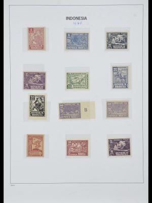 Postzegelverzameling 33988 Weense drukken Indonesië.