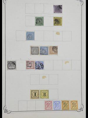 Postzegelverzameling 33991 Europese landen 1851-ca. 1920.