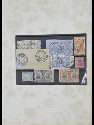Postzegelverzameling 33994 Egypte hotel stempels 1900-1935.