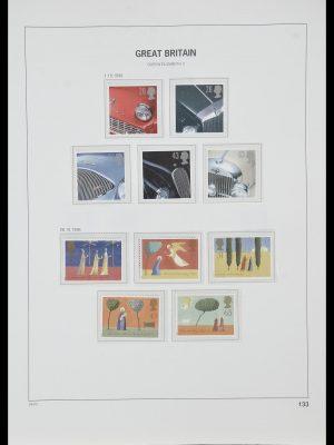 Postzegelverzameling 33998 Engeland 1858-1995.