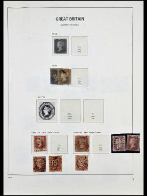 Postzegelverzameling 33999 Engeland 1841-2000.