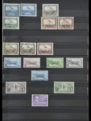 Postzegelverzameling 34004 België back of the book 1879-1985.