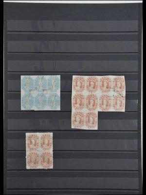 Postzegelverzameling 34008 Tasmanië 1857-1870.