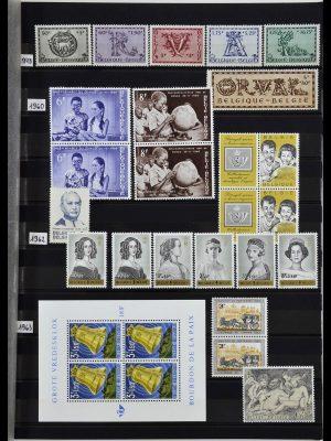 Postzegelverzameling 34019 België 1960-2004.