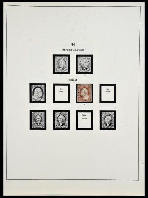 Postzegelverzameling 34024 USA 1857-1995.
