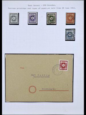 Postzegelverzameling 34032 Duitse Zones 1945-1948.