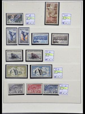 Postzegelverzameling 34035 Frans Antarctica 1955-1992.