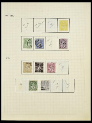 Postzegelverzameling 34038 Zwitserland 1854-1973.