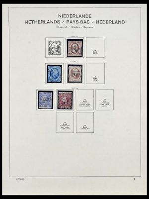 Postzegelverzameling 34040 Nederland 1852-1992.
